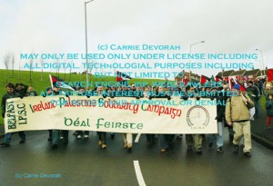 Derry Bloody Sunday March 23 Sinn Fein - PLO banner 2 copy